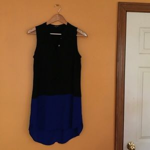 Madewell colorblock dress